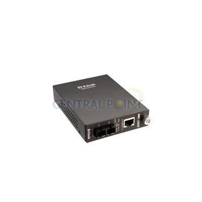 D-Link MEDIA CONVERTER 10 100MBPS TP-100MBPS FIBER Netwerkkaart