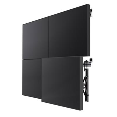 Smart Media SMS Multi Display Wall + Montagehaak - Zwart