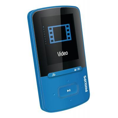 Philips MP3 speler: GoGear MP4-speler SA4VBE04BN/12 - Blauw