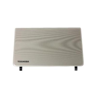 Toshiba notebook reserve-onderdeel: LCD Back Cover, Silver - Zilver