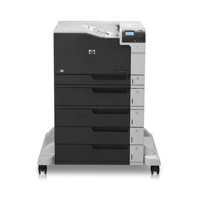 Hp laserprinter: LaserJet Color LaserJet Enterprise M750xh - Zwart, Wit