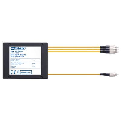 Spaun 815036 Kabel splitter of combiner - Zwart