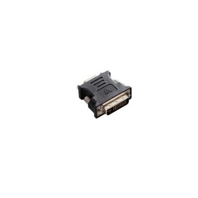 V7 Adapter DVI-I to VGA DVI-I Dual Link/HDDB15 M/F Kabel adapter - Zwart
