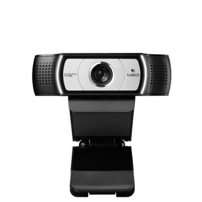 Logitech webcam: C930e - Zwart