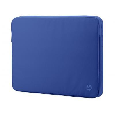"Hp laptoptas: 14"" Spectrum Blue Sleeve - Blauw"