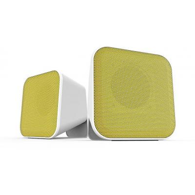 Speed-Link SNAPPY Speaker - Wit, Geel