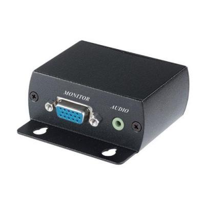 Advanced cable technology AV extender: VGA Extender 70m - Zwart