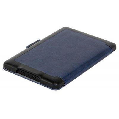 Gecko covers e-book reader case: Folio case for Amazon Kindle, Black/Azure - Blauw