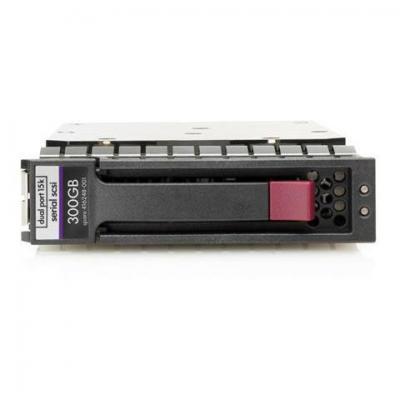 Hp interne harde schijf: 300GB 3G 15K 3.5 inch SAS DP HDD