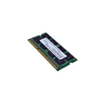 2-power RAM-geheugen: 4GB, DDR3L, 1600MHz, 1Rx8 LV SODIMM