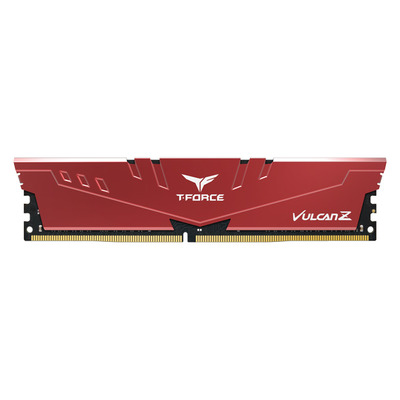 Team Group T-FORCE 8 GB, DDR4, 3600 MHz, 288-pin DIMM, CL18, 1.35 V, Red RAM-geheugen - Rood