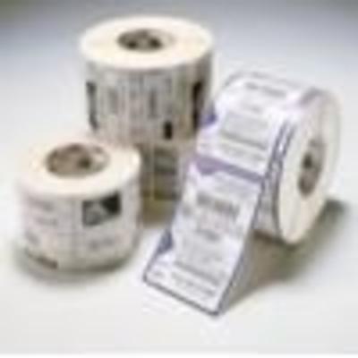 Zebra 6-pack 1.0 x 11.0 Wristband 1 C Etiket - Wit