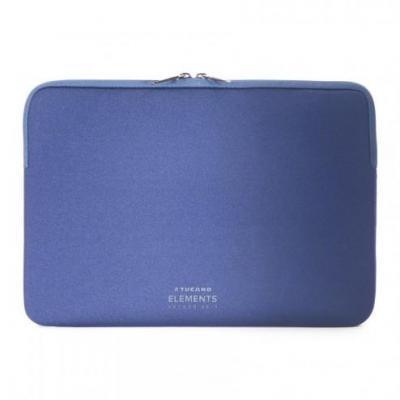 Tucano laptoptas: Elements Second Skin - Blauw