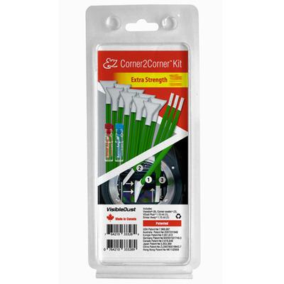 VisibleDust EZ Corner2Corner Reinigingskit - Groen