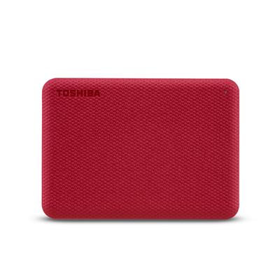 Toshiba Canvio Advance Externe harde schijf - Rood