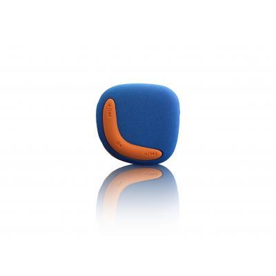 Lenco MP3 speler: Xemio-254 - Blauw, Oranje