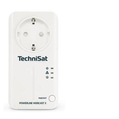 TechniSat WEBCAST 3 Powerline adapter - Wit