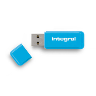 Integral NEON USB flash drive - Blauw