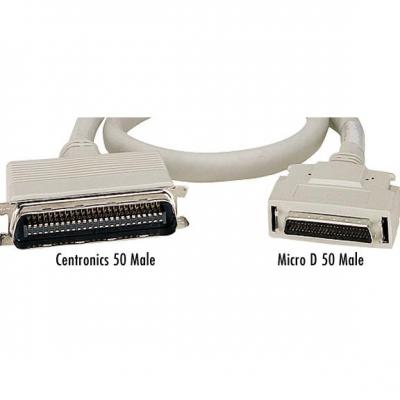 Black Box D50/D50, 3m Seriele kabel - Grijs