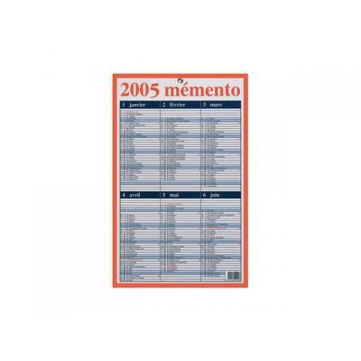 Aurora agenda: Mementoplaat 330x210mm frans