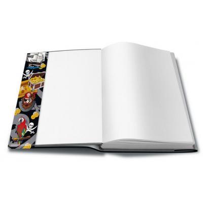Herma tijdschrift/boek kaft: 24300 - Zwart