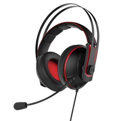 Asus headset: Cerberus V2 - Zwart, Rood