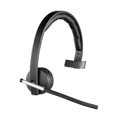 Logitech headset: Draadloze Mono Hoofdtelefoon (H820e) - Zwart