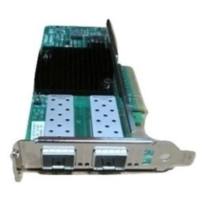 DELL Intel X710 10 Gb SFP+ Converged Network Adapter met Twee Poorten (Low Profile) Netwerkkaart
