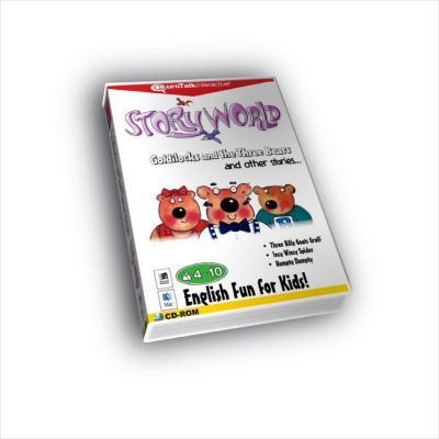Eurotalk educatieve software: Story World, Leer Engels Vol. 1 met o.a. Humpty Dumpty