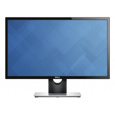 Dell monitor: E Series E2216H - Zwart