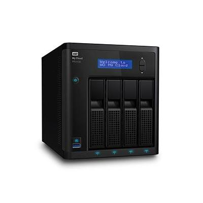Western Digital My Cloud PR4100 8TB NAS - Zwart