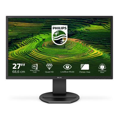 "Philips B Line QHD LCD-van 68,6 cm (27"") Monitor - Zwart"