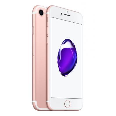 Apple smartphone: iPhone 7 128GB Rose Gold | Zonder headset - Roze (Refurbished LG)
