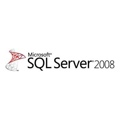Microsoft SQL Server 2008 Standard, 1Y, CAL Software