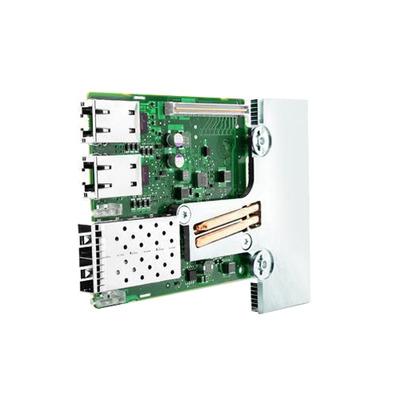 DELL Broadcom 57800 2x10 Gb DA/SFP+ + 2x1 Gb BT Netwerkdochterkaart netwerkkaart - Groen