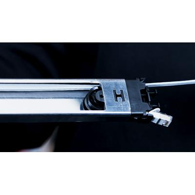 PATCHBOX ® Plus+ Cat.6a Cassette (UTP, White, 1.8m / 30RU) Netwerkkabel - Wit