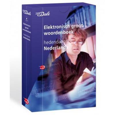 Van dale edutainment software: Van Dale, Groot Woordenboek Hedendaags Nederlands 6.9