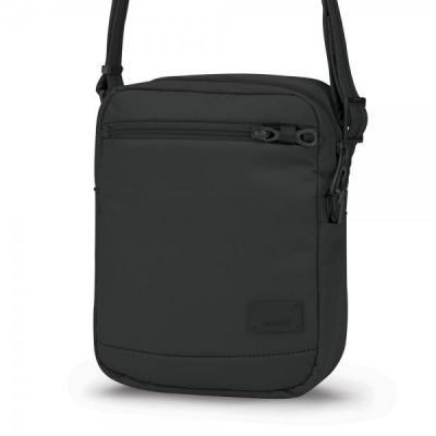 Pacsafe vrouwen-handtas: Citysafe CS75 - Zwart