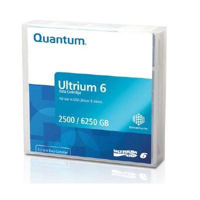 Quantum datatape: Ultrium 6 - Zwart