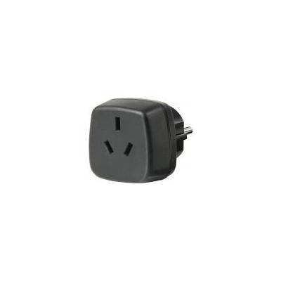 Brennenstuhl netvoeding: Travel Adapter Australia, China/earthed - Zwart