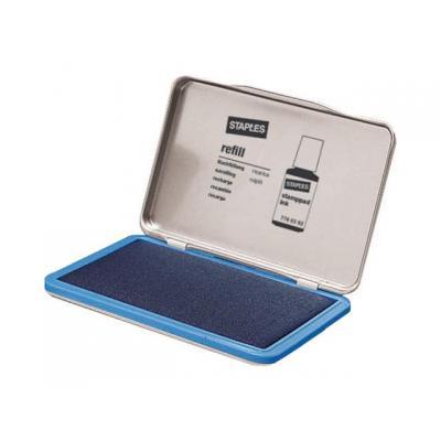 Staples stempel inkt: Stempelkussen SPLS 11x7cm 7711476 blauw