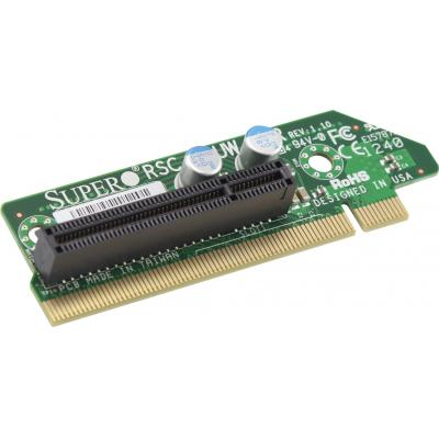 Supermicro Riser Card 1U RHS Passive WIO to 1 x PCI-E x8 Interfaceadapter