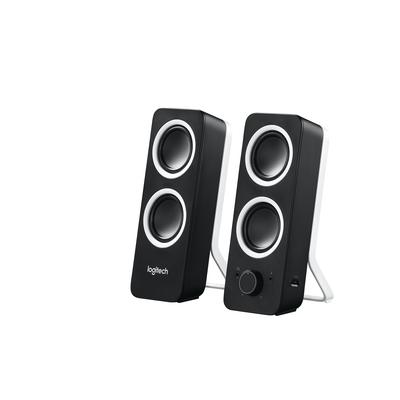 Logitech Z200 Stereos Rijk stereogeluid Speaker - Zwart