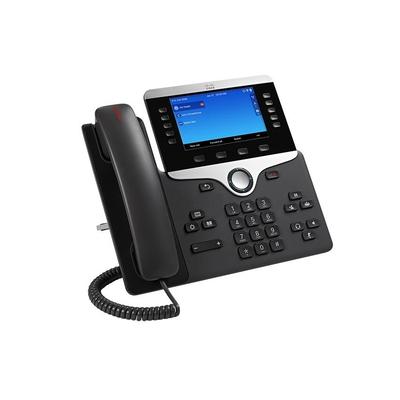 Cisco 8861 IP telefoon - Zwart,Zilver