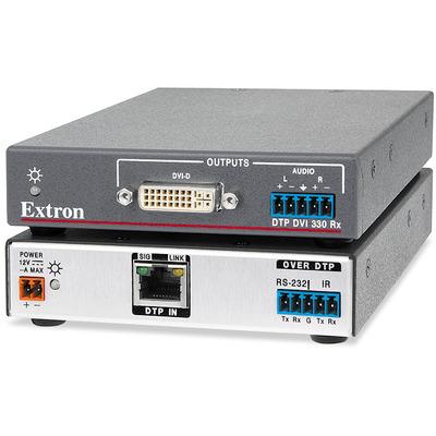 Extron DTP DVI 330 Rx AV extender - Zwart