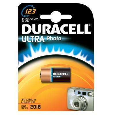 Duracell batterij: CR17345 - Zwart, Goud