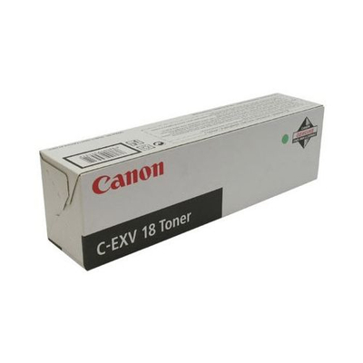 Canon C-EVX 18 for iR1018/iR1022 Black Toner - Zwart