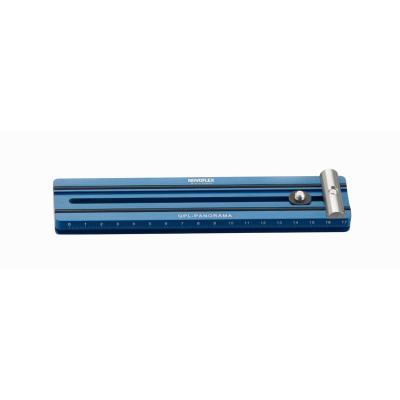 Novoflex statief accessoire: snelkoppelplaat voor panorama 180mm - Blauw