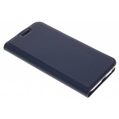 Slim Softcase Booktype Samsung Galaxy J3 (2017) - Blauw / Blue Mobile phone case
