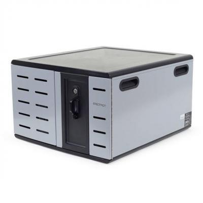 Ergotron ZIP12 portable device management carts & cabinet - Zwart, Grijs
